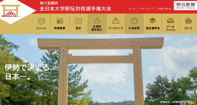 全日本大学駅伝 画像