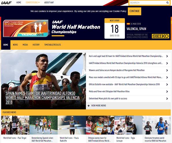 世界ハーフマラソン2018画像