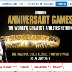 【IAAFダイヤモンドリーグ・ロンドン 2016】結果・速報(リザルト) 鎧坂哲哉、出場