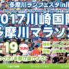 【川崎国際多摩川マラソン 2017】結果・速報(ランナーズアップデート)