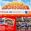 【かさま陶芸の里ハーフマラソン 2016】結果・速報(リザルト)