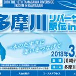 【多摩川リバーサイド駅伝 in 川崎 2018】結果・速報(リザルト)