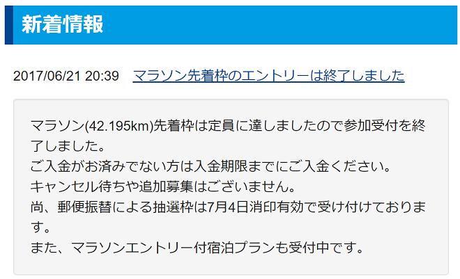 青島太平洋マラソン エントリー情報