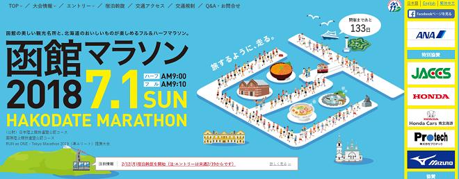 函館マラソン2018画像