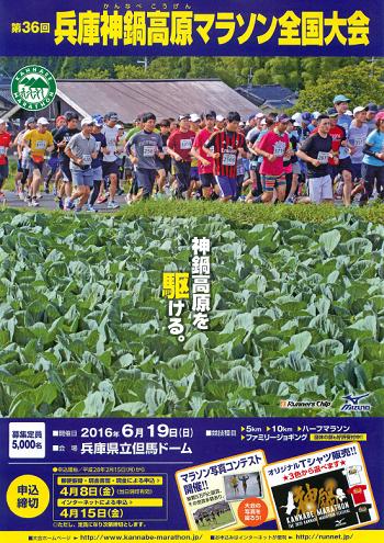 兵庫神鍋高原マラソン全国大会 2018 結果・速報(リザルト)