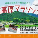 【第39回 都祁高原マラソン 2018】結果・速報(リザルト)