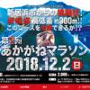 【第2回 あかがねマラソン(新居浜市民マラソン)2018】結果・速報(リザルト)