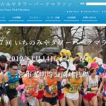【いちのみやタワーパークマラソン 2019】エントリー9月25日開始。結果・速報(リザルト)
