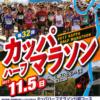 【第32回 カッパハーフマラソン 2017】結果・速報(リザルト)