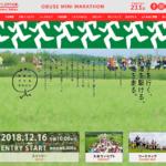【第17回 小布施見にマラソン 2018】エントリー12月16日開始。結果・速報(リザルト)