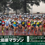 【第31回 大田原マラソン 2018】結果・速報(ランナーズアップデート)
