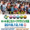 【ほこたハーフマラソン 2019】エントリー7月1日開始。結果・速報(リザルト)