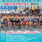 奥むさし駅伝 2019【一般の部】結果・速報(リザルト)