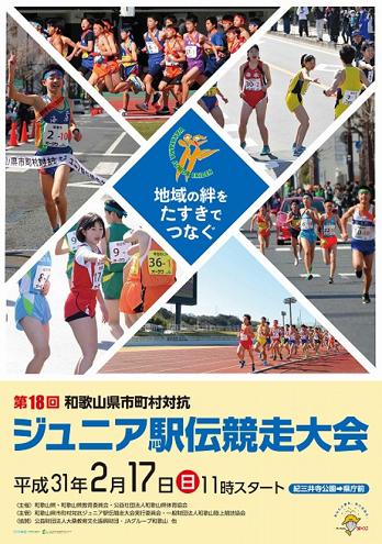 和歌山県市町村対抗ジュニア駅伝2019画像