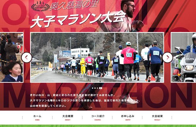 奥久慈湯の里大子マラソン2019画像