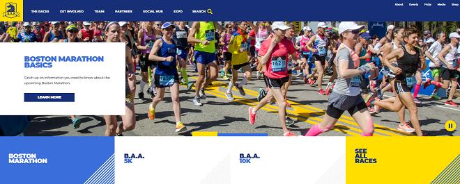 ボストンマラソン2019画像