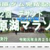 【デサント藤原湖マラソン 2019】結果・速報(リザルト)