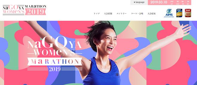名古屋ウィメンズマラソン2019画像