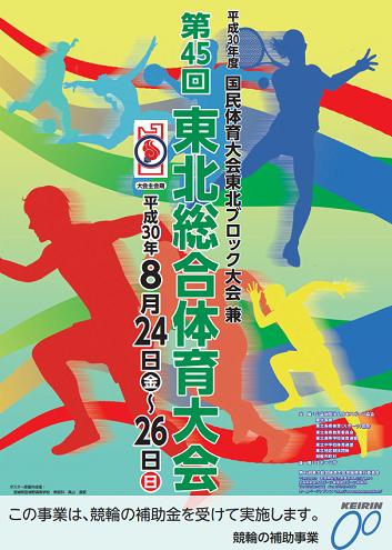 東北総合体育大会陸上競技2018画像