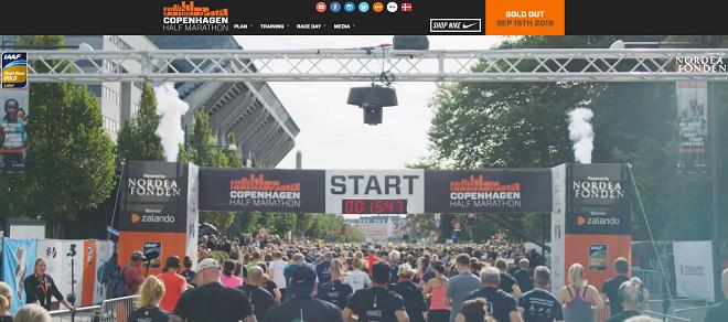 コペンハーゲンハーフマラソン2019画像