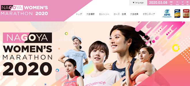 名古屋ウィメンズマラソン2020画像