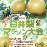 【白井梨マラソン 2019】結果・速報(リザルト)