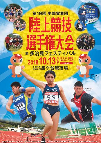 中部実業団陸上競技選手権2018画像