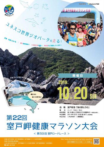室戸岬健康マラソン2019画像