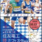 【日本記録挑戦会 兼 住友電工杯 2019】結果・速報(リザルト)