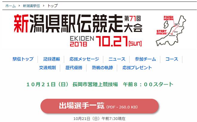 新潟県駅伝2018画像