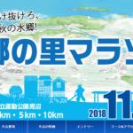 【第42回 水郷の里マラソン 2018】結果・速報(リザルト)