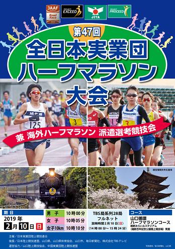 全日本実業団ハーフマラソン2019画像