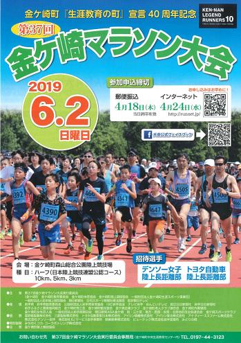 金ケ崎マラソン2019画像