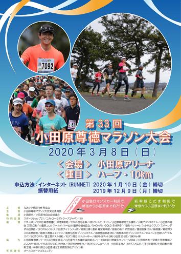 小田原尊徳マラソン2020画像