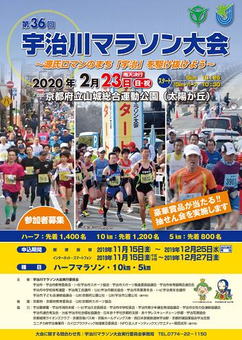 宇治川マラソン2020画像