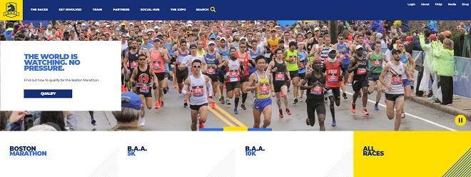 ボストンマラソン2020画像