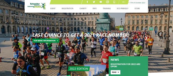 パリマラソン2021