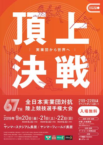 全日本実業団陸上2020画像