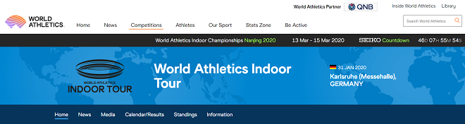 World Athletics Indoor Tour 2020