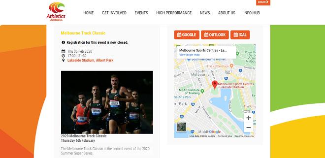 Melbourne Track Classic 2020 画像
