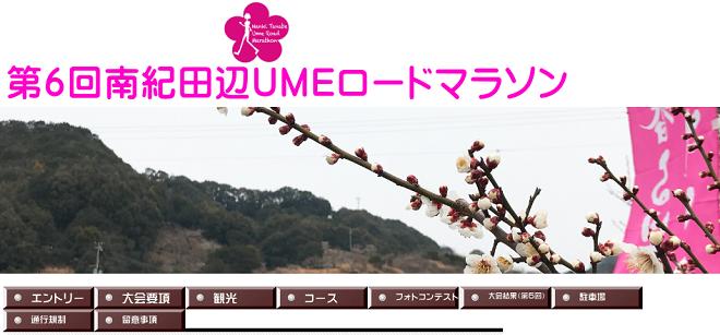 南紀田辺UMEロードマラソン2020画像