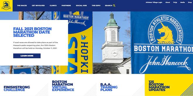 ボストンマラソン2021