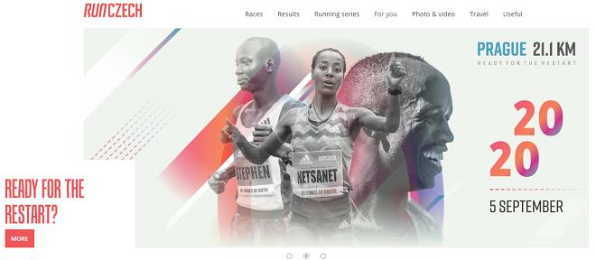 プラハハーフマラソン2020画像